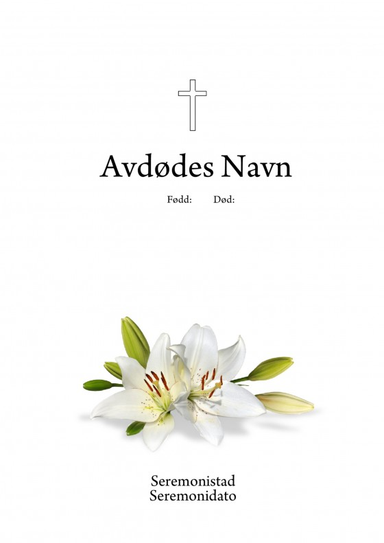 Hvit lilje
